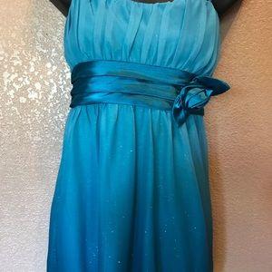 Short City triangle dress